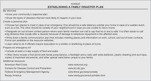Emergency Preparedness Worksheet Disaster Preparedness For Nurses A Teaching Guide