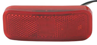 rectangular led trailer clearance side marker light with