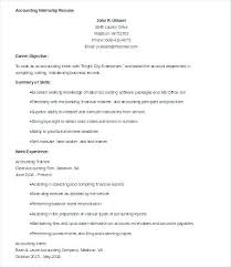 sample accounting student resume u2013 topshoppingnetwork com