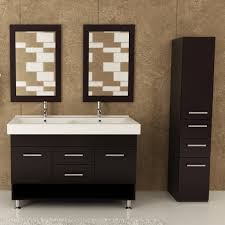 Espresso Vanity Bathroom Jwh Living Rigel 48