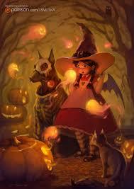 spirits of halloween by tsvetka on deviantart