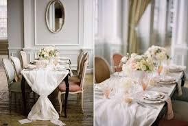 chemin de table mariage chemin de table mariage romantique j ai dit oui