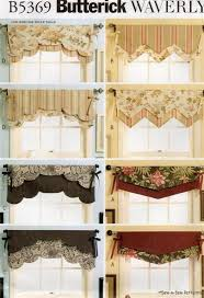 Patterns For Curtain Valances Waverly Reversible Valance Sew Pattern Window Curtain Valance