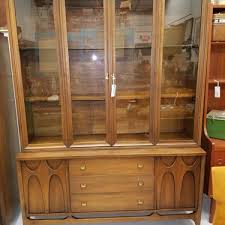 Heywood Wakefield China Cabinet Vintage And Antique Buffets Credenzas And Sideboards From