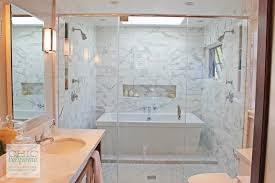 sneak inside some of the best california homes part 3 chic white marble tub spa tub double shower