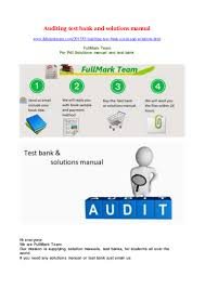 auditingtestbankandsolutionsmanual 170907002226 thumbnail 4 jpg cb u003d1504743811