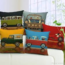 Pillow Covers For Sofa by 17 Styles Dogs Drivers Cushions Pillows Covers Oil Paint Dog
