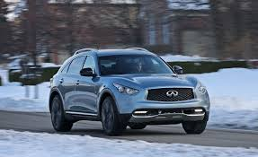 quick review 2017 infiniti qx60 2017 infiniti qx70 awd test u2013 review u2013 car and driver