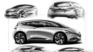 renault scenic 2017 2017 renault scenic design sketch hd wallpaper 50