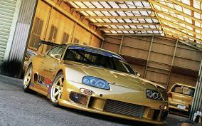 golden cars wallpaper toyota supra gold wallpaper 1920x1200 17983