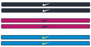 thin headbands nike dri fit studio headbands soccer equipment and gear