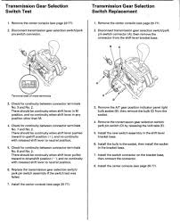 service manual for 2005 acura mdx light around gear shift acurazine acura enthusiast community