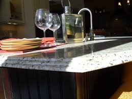 furniture countertop edge for waterfall countertop and kitchen