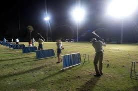 driving range with lights near me the lighted driving range at night picture of country club of