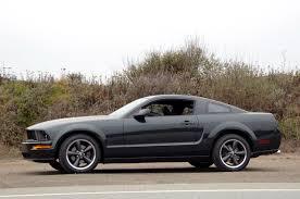 2007 Black Mustang 2007 Ford Mustang Bullitt Car Autos Gallery