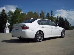 2007 bmw 335i e90 bmw e90 335i alpine white modified khoalty bmw