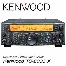 kenwood ts 2000 e u0026 x dx covers radio dust cover prism embroidery
