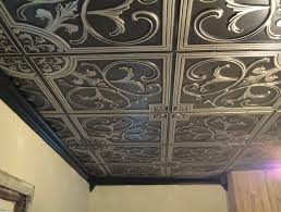 faux tin ceiling tiles cheap decorating ideas pinterest faux
