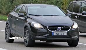 volvo hatchback 2015 spyshots volvo xc40 compact suv test mule