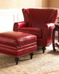 Chairs And Ottomans Leather Armchair And Ottoman Audioequipos