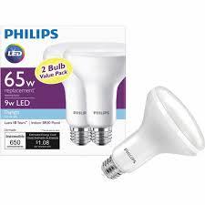 philips br30 medium dimmable led floodlight light bulb 462135