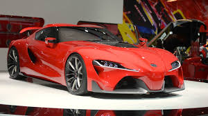 Toyota Ft 1 Engine It Looks Like The New Toyota Supra Will Have A 4 Cylinder Engine