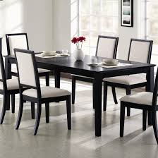 Dining Room Table Black Black Dining Room Table Thearmchairs Best Black Dining Room