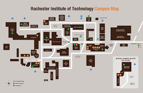 Rit Floor Plans Campus Map Redesign On Behance
