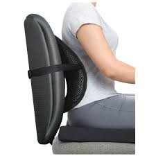maxiaids ergonomic mesh back support with comfort cushion