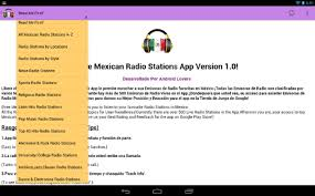 Radio Frequency In Computer Interface Free Mexican Radio Stations Android Apps On Google Play