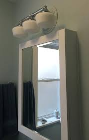Above Vanity Lighting Winsome Ideas Vanity Lights Medicine Cabinet Exciting