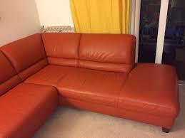 Orange Leather Sectional Sofa Italsofa Leather Sofa Sectional Home Furniture Decoration