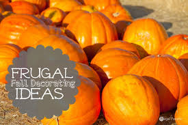 frugal fall decorating tips frugal fanatic