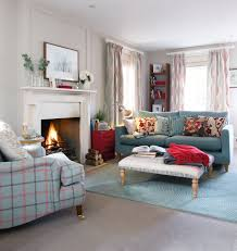 Red Living Room by Update A Neutral Colour Palette With Shades Of Cherry Red And Teal