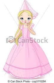 eps vector beautiful princess vector cute beautiful