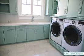 How To Hide Washer And Dryer by Upstairs Laundry Room The Sunny Side Up Blog