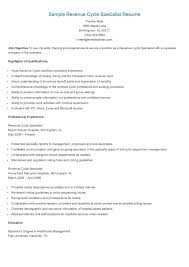 Sample Resume For Medical Billing Specialist by Insurance Sample Resume Free Resume Example And Writing Download