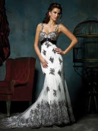 black and white wedding dresses fabulous black and white wedding dresses
