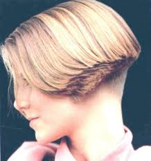 ultra short bob hair nape hair cut women clippered nape wedge hairstyles short
