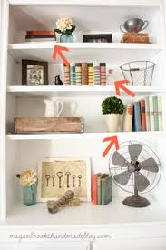 How To Decorate Floating Shelves Office Makeover Reveal Decorating Vintage And Bookshelf Styling