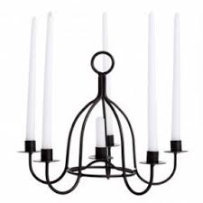 Black Metal Chandeliers Wrought Iron Hanging Candle Holders Foter