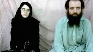 couple held captive by taliban linked group is freed