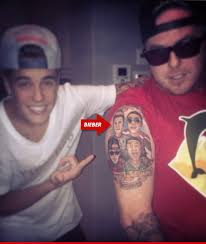 weed dealer has justin bieber tattooed forever tmz com