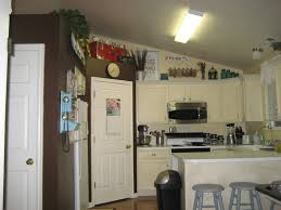 Space Above Kitchen Cabinets Ideas Paint Me Shabby Filling The Awkward Space Above Kitchen Cabinets
