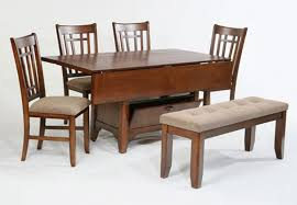 Dining Tables With 4 Chairs Attractive Rectangular Drop Leaf Dining Table
