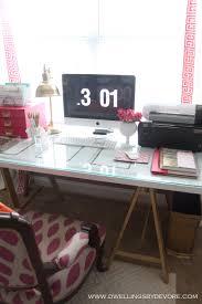 Diy Door Desk by Dwellings By Devore Diy Nailhead Door Desk