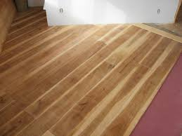 Diy Laminate Flooring A Wide Plank Floor From Cutting Trees To Installation Johnny D Blog