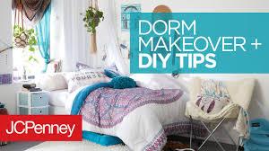 Blue Dorm Room Dorm Room Makeover Diy Dorm Room Organization Ideas Jcpenney