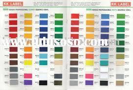 vinyl paint color chart ideas 3m vinyl color chart 3m