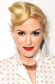 curl in front of hair pic 31 days 31 great hair ideas thicker hair gwen stefani and rock
